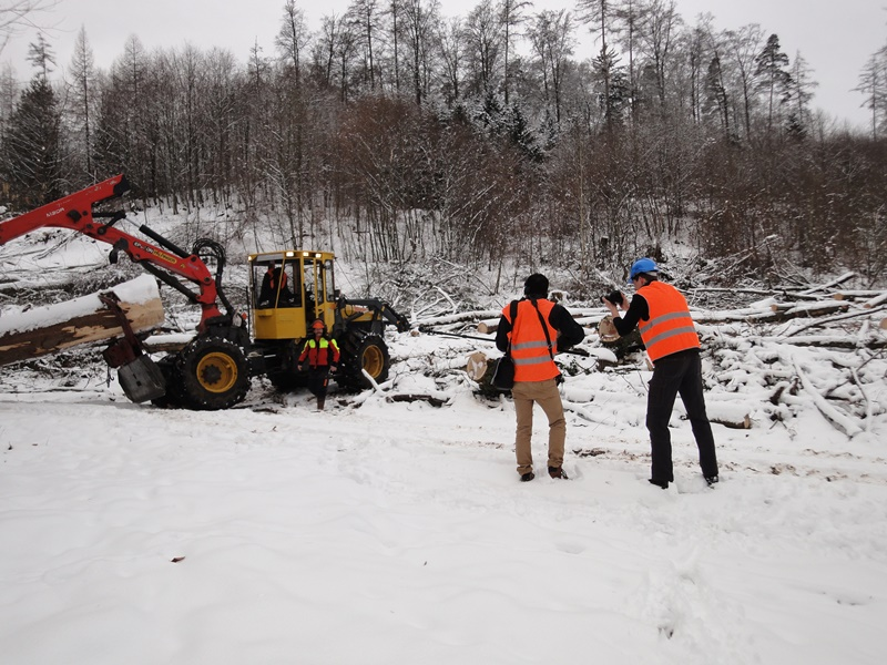 2017-01-11-Dreharbeiten Forstmaschinenfuehrer 3